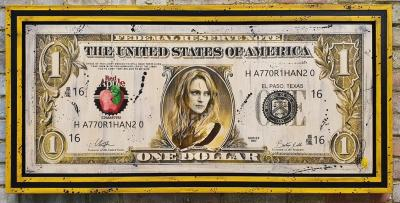 The Bride $100 Bill