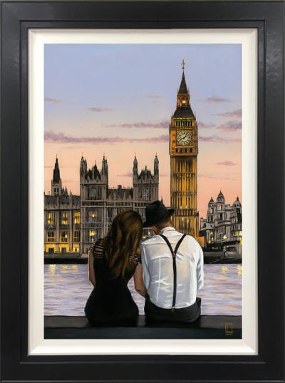 Westminster Sunset- Canvas