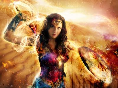 Wonder Woman - Thunderbolts of Love - Large