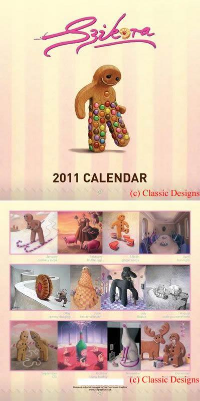 2011 Calendar by Sarah Jane Szikora