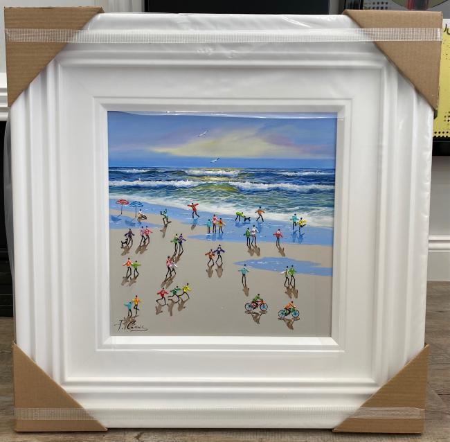 A Day At The Beach by Paola Cassais