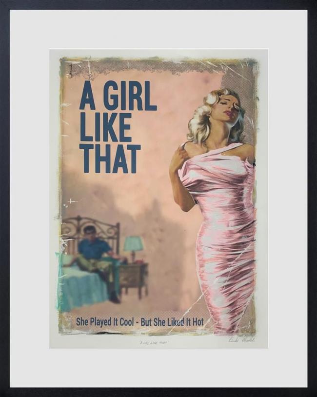 A girl like that by Linda Charles