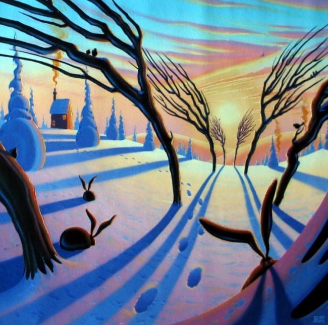 A Winters Tale by Derrick Fielding
