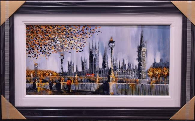 Across The Thames by Simon Wright