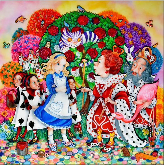 Alice In The Rose Garden by Kerry Darlington