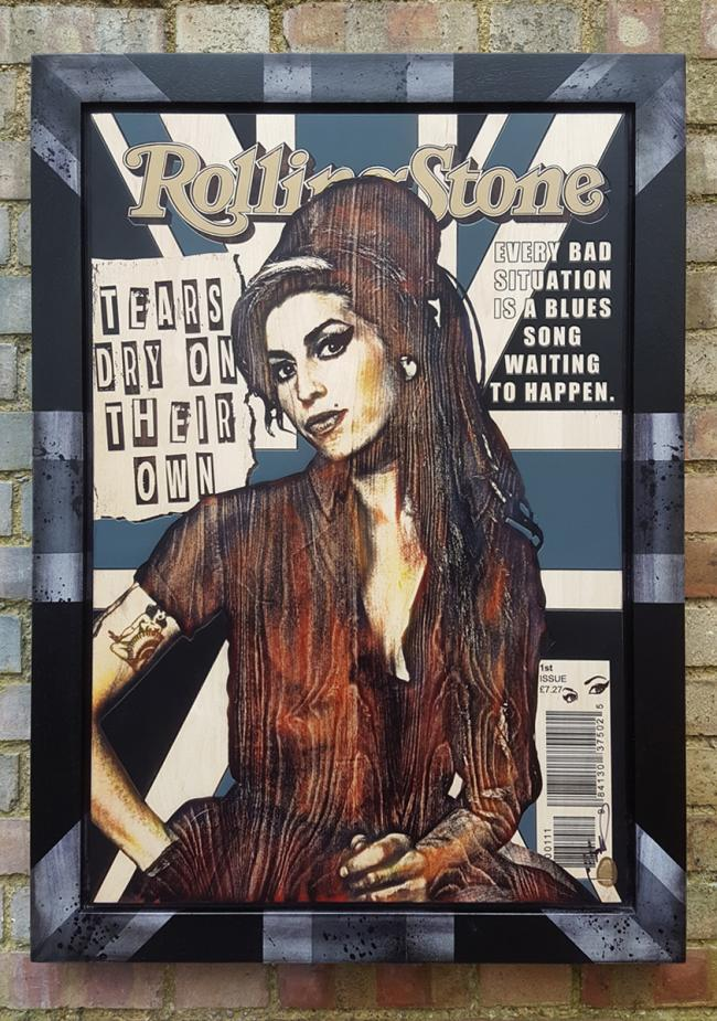 Amy Winehouse by Rob Bishop