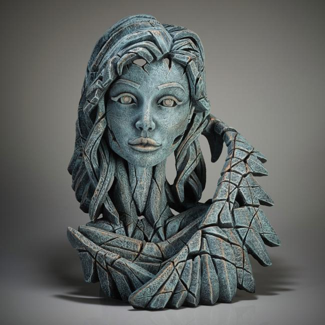 Angel Bust - Teal by Edge Sculptures by Matt Buckley