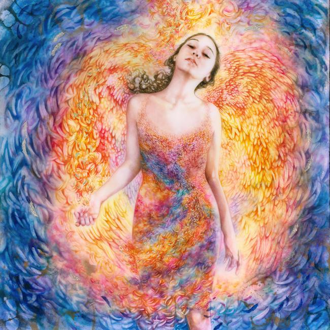 Angel Illuminated by Kerry Darlington