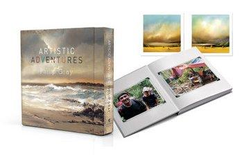 Artistic Adventures - Deluxe Book by Philip Gray