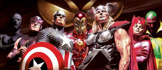 Assemble - Deluxe by Alex Ross