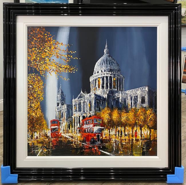Autumn At St Pauls by Simon Wright