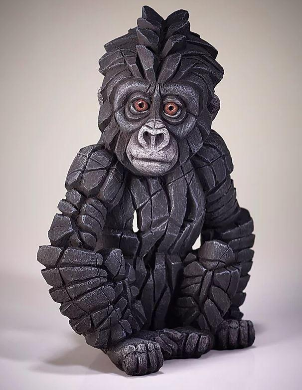 Baby Gorilla by Edge Sculptures by Matt Buckley