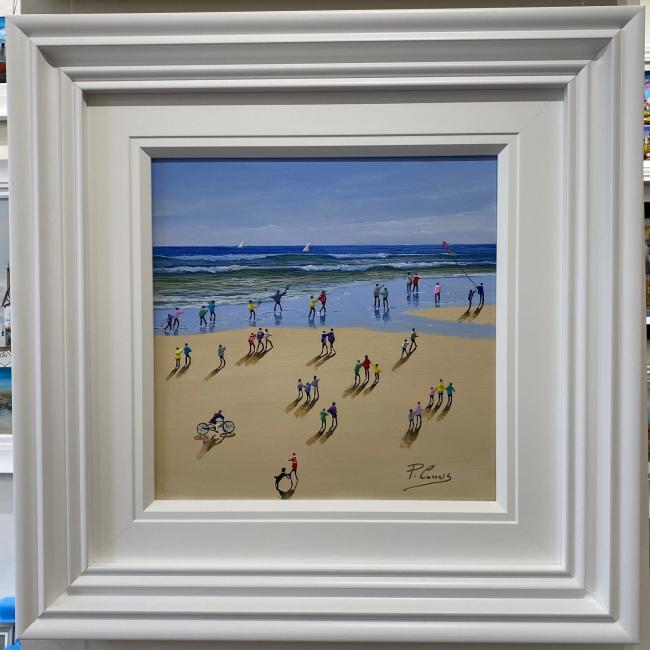 Beach Days II by Paola Cassais