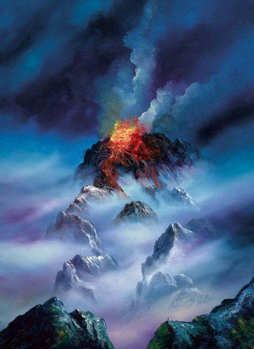 Blazing Clouds by Philip Gray