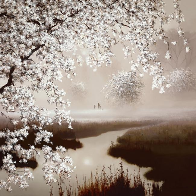 Blossoming Dreams by John Waterhouse