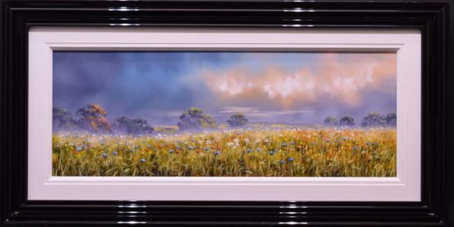 Blue Haze (40x15) by Allan Morgan
