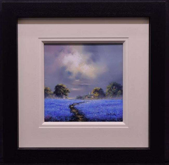 Bluebell Field (12x12) by Allan Morgan