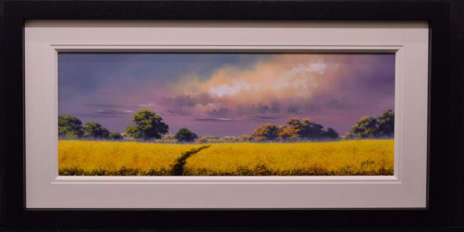Brighter Days Ahead (40x15) by Allan Morgan