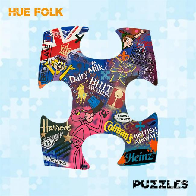 British Games- Wall Sculptureby Hue Folk