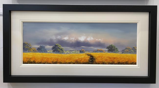 Build me up Buttercup (40 x 15) by Allan Morgan