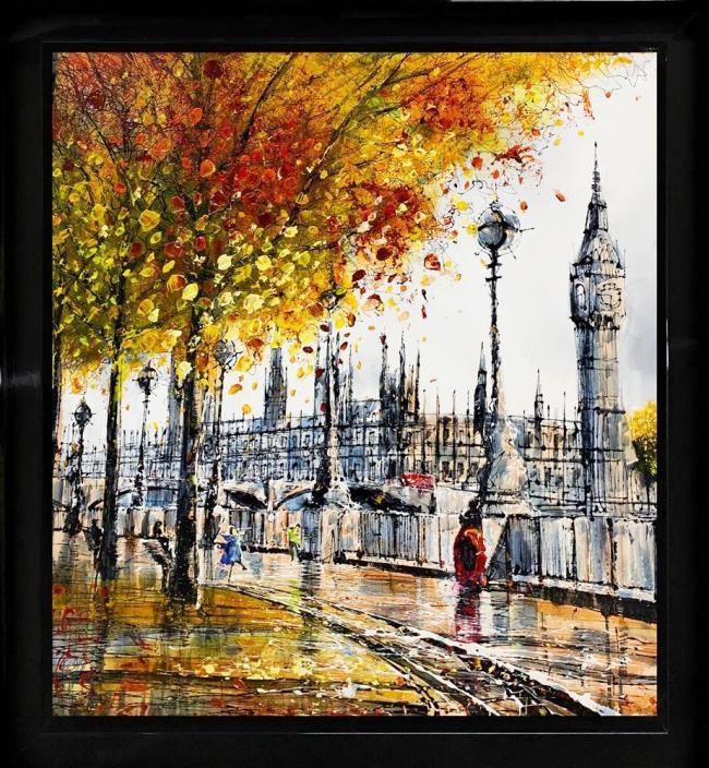 City Walk by Nigel Cooke