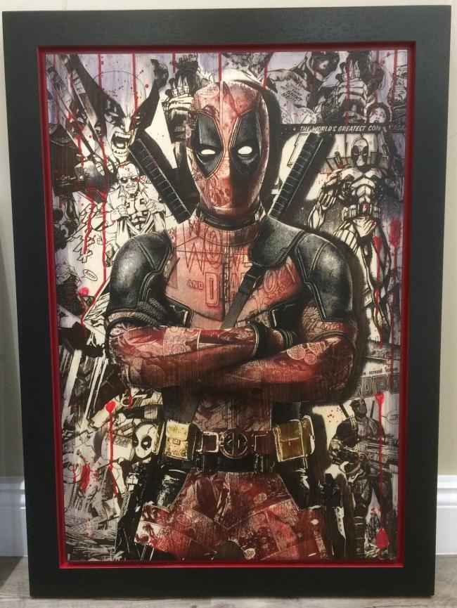Comic On Deadpool (OV3) by Rob Bishop