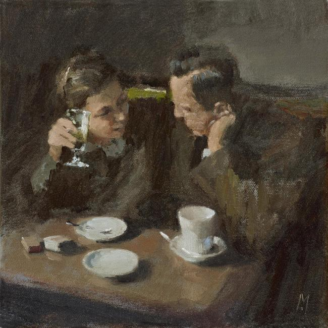Cosy Chat by Nigel Mason