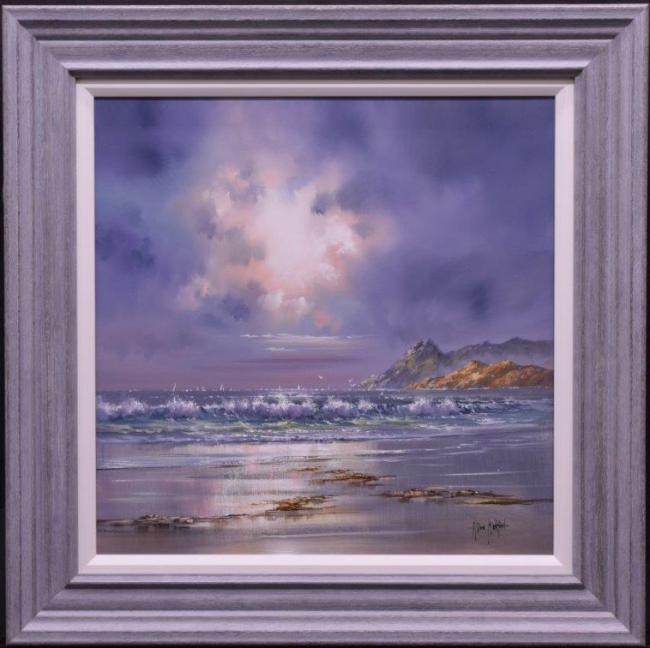 Crashing Waves I by Allan Morgan