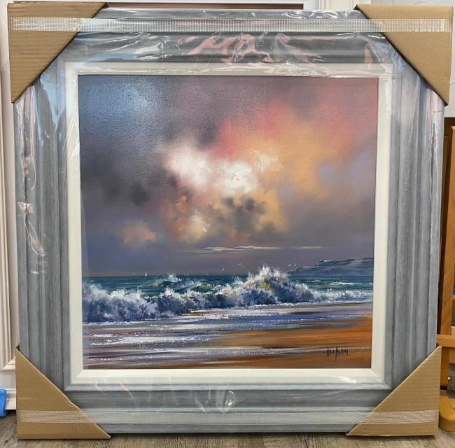 Crashing Waves II by Allan Morgan
