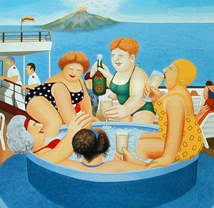 Cruising by Beryl Cook