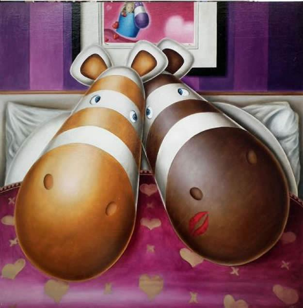 Cuddle Club by Peter Smith