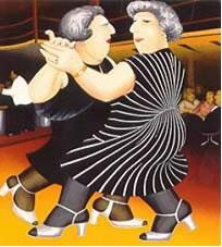 Dancing On The QE2 by Beryl Cook
