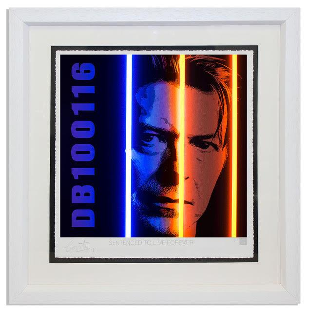 David Bowie - Life Series by Courty