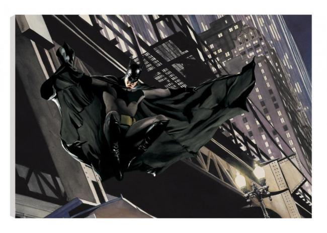 Descent On Gotham by Alex Ross