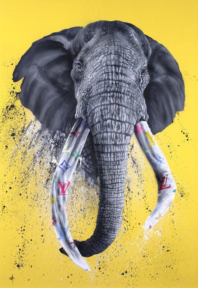 Designer Tusks by Dean Martin