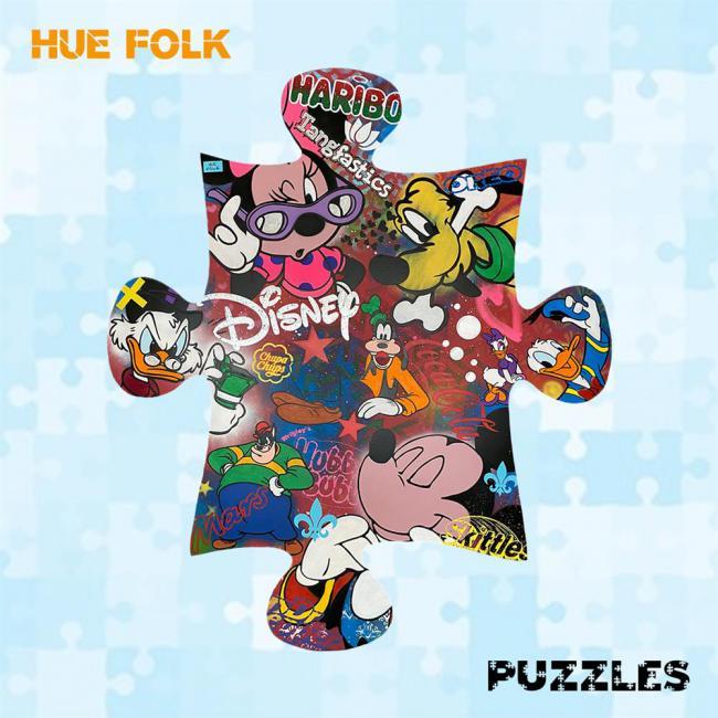 Disney Games- Wall Sculptureby Hue Folk
