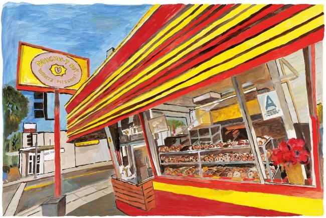 Donut Shop by Bob Dylan