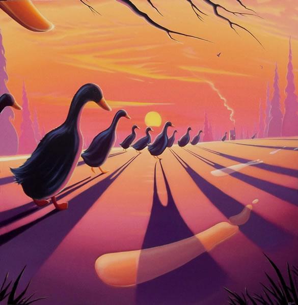 Duck L'Orange by Derrick Fielding