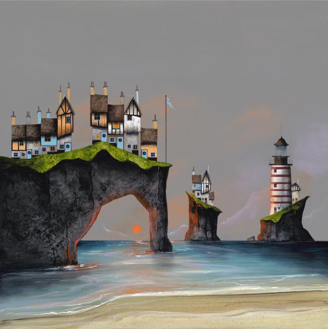 Durdle Door Cottages ii by Gary Walton