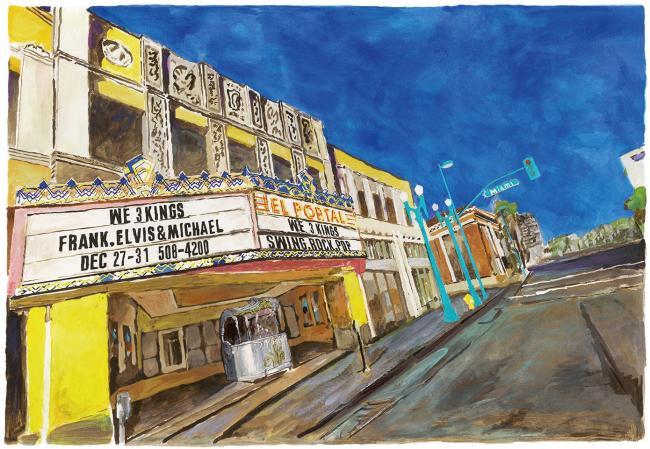East LA Side Street by Bob Dylan