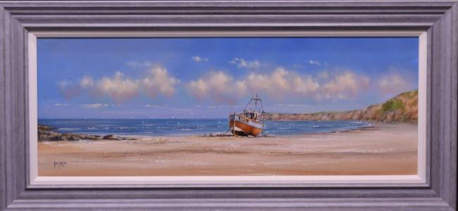 Fishing Boat by Allan Morgan