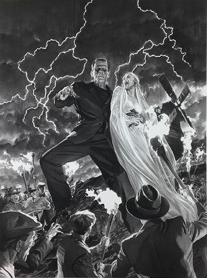 Frankenstein - Universal Monsters Collection by Alex Ross