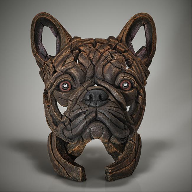 French Bulldog - Brindle by Edge Sculptures by Matt Buckley
