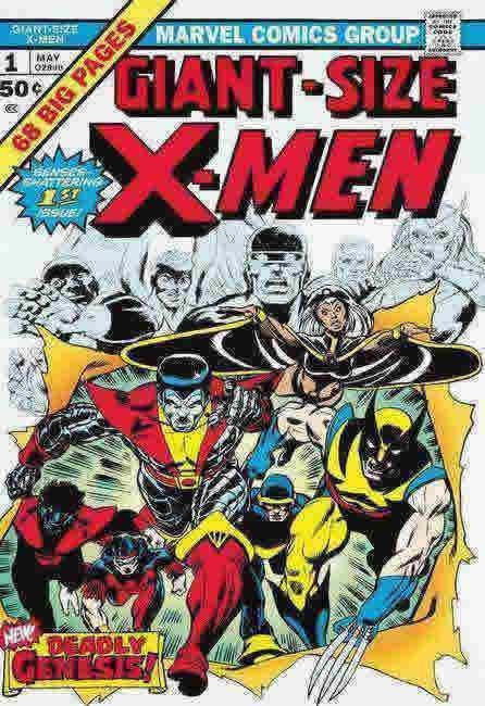 Giant Size X-Men #1 by Stan Lee  Marvel Comics