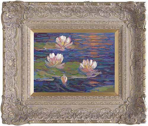 Giverny Reflections III by John Myatt