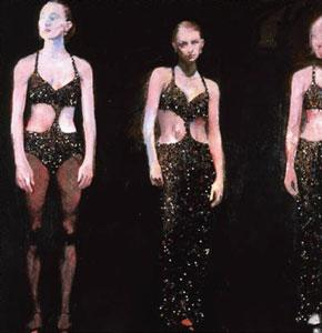 Glitter Girls by Robert Heindel