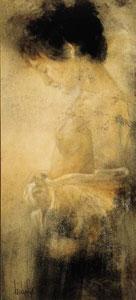 Grace - On Canvas by Domenech