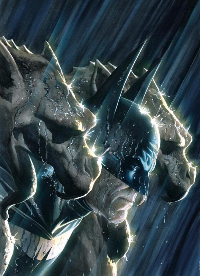 Grim Gargoyles by Alex Ross