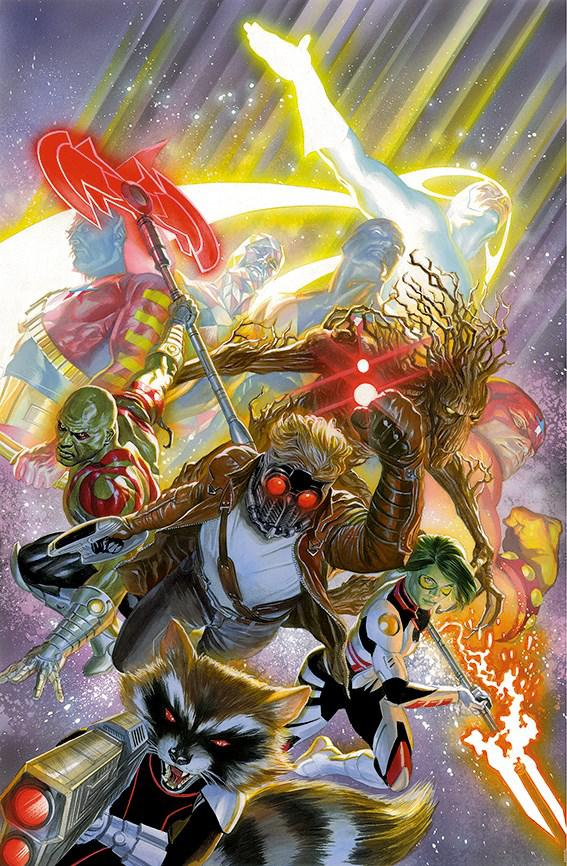 Guardians Of The Galaxy - Deluxe by Alex Ross