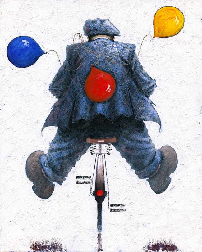 Happy Days Canvas by Alexander Millar